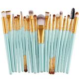 20pc Make up kit brush set