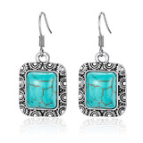 Turquoise Vintage Drop Earrings