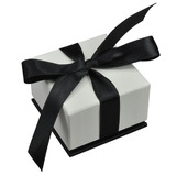 Deluxe Bow Tie Gift Box for Ring, Pendant Necklace and Earrings