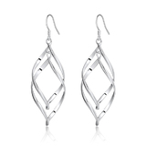 925 Silver Elegant Drop Earrings