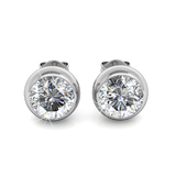 Opulence Stud Earrings Embellished with Crystals from Swarovski