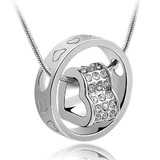 Love Infinite ft. Swarovski Crystals Pendant Necklace