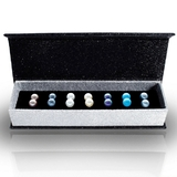 Boxed 7 Pair Earring Set - Embellished with Crystals from Swarovski