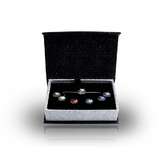 Interchangeable Pendant Necklace Box Set Embellished with Crystals from Swarovski