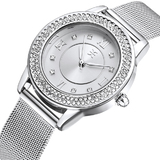 Mikonos Watch Embellished with Crystals from Swarovski