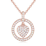 Julieta Pendant Necklace Embellished with Crystals from Swarovski