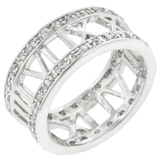 925 Silver Roman Numeral Ring