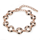 Cologne Bracelet Embellished with Crystals from Swarovski -RG