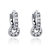 925 Sterling Silver Elegant Earrings