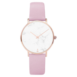 Elegant Watch - Pink / Marble Face - 39mm