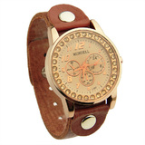 Genuine Cow Leather Watch