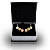 Interchangeable Pearl Earrings Box Set Embellished with Crystals from Swarovski