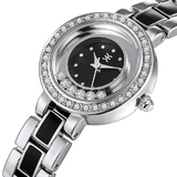 Deluxe Watch Ft Swarovski Crystals