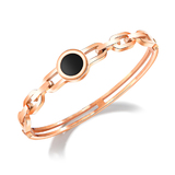 Elegant Bangle - Rose Gold
